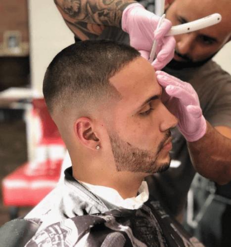 Fade Haircut Barber Chair Sarasota